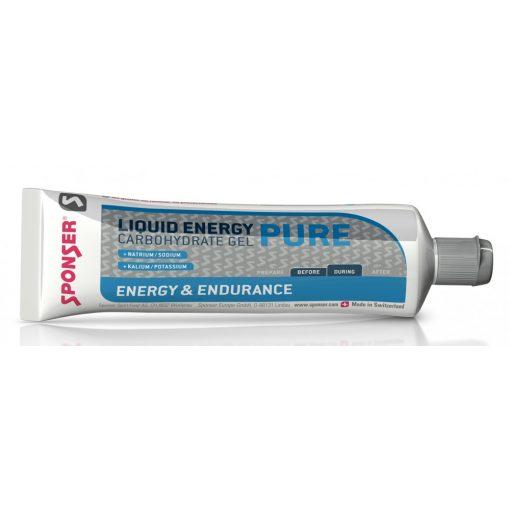 Sponser Liquid Energy Pure Energia Gél, Natúr 70g