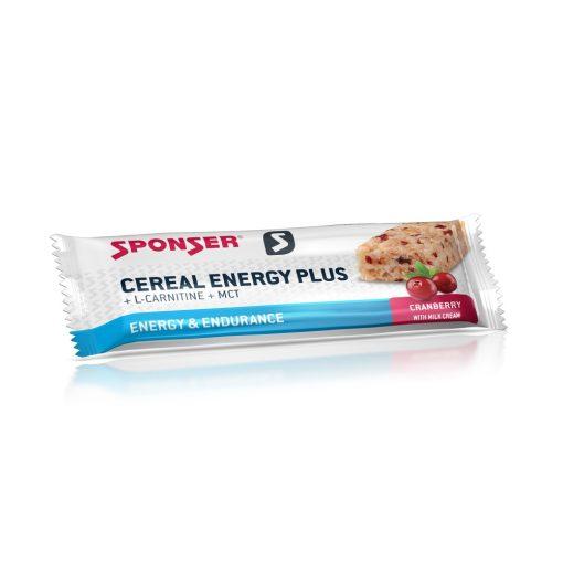 Sponser Cereal Energy Plus Müzliszelet, Áfonya 40g