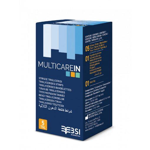 MultiCare IN triglicerid tesztcsík 5db