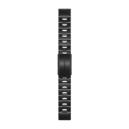 GARMIN Fenix 6 (QuickFit) titánium óraszíj, DLC bevonattal , 22 mm