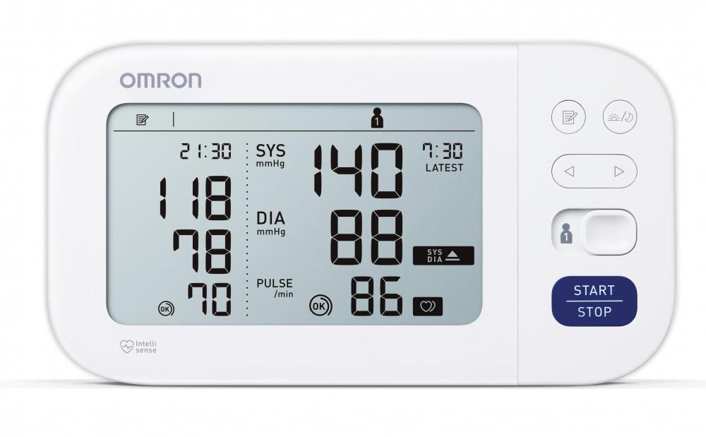 OMRON M6 Comfort Intellisense (Afib) felkaros vérnyomásmérő