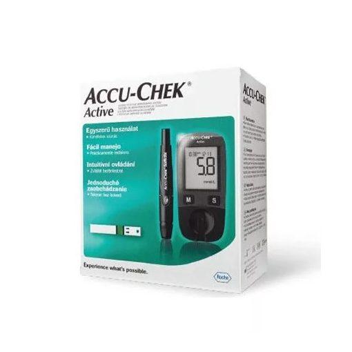 ROCHE Accu-check Active KIT vércukorszintmérő készülék